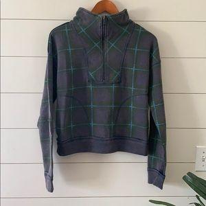 Free People Why Not Zip Sweatshirt Size XS